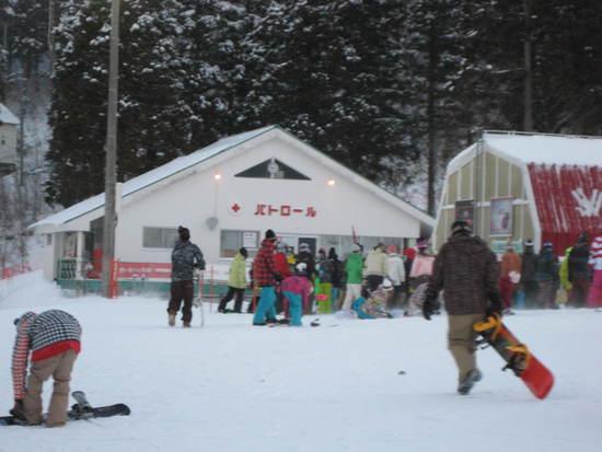 今日はツキがない1日|鷲ヶ岳スキー場のクチコミ画像