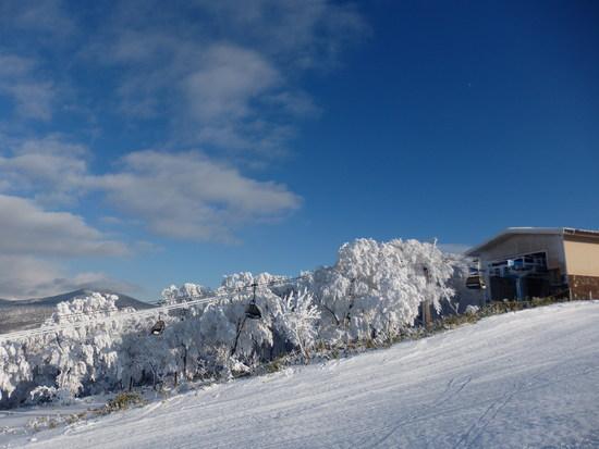 無風で最高の天気でした|箕輪スキー場のクチコミ画像2
