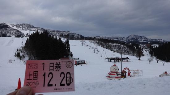 12/20 上国に行って来ました|上越国際スキー場のクチコミ画像
