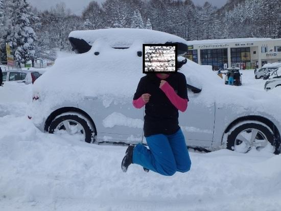駐車場からが。|竜王スキーパークのクチコミ画像