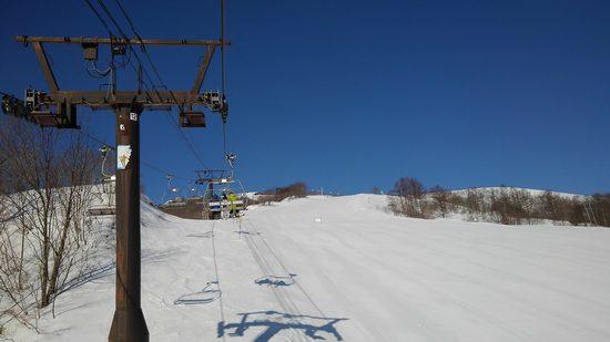 最高の青と白|白馬八方尾根スキー場のクチコミ画像