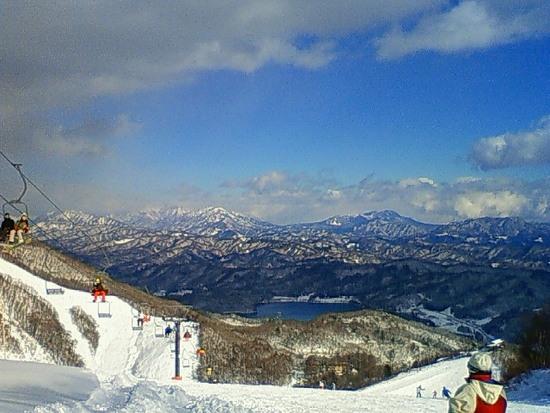 広いが雪質はタイミングによる|白馬八方尾根スキー場のクチコミ画像