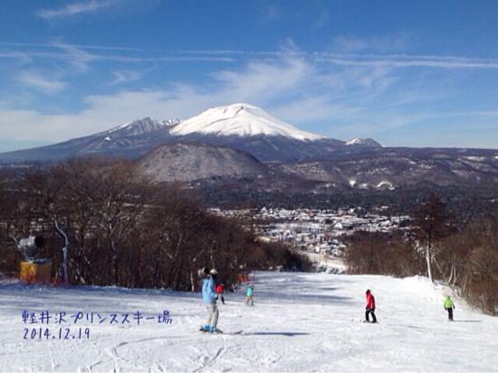 浅間山ビュー最高。|軽井沢プリンスホテルスキー場のクチコミ画像