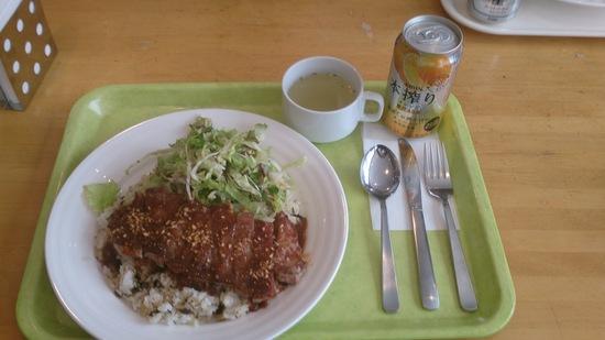 うまいぞ!野沢菜ステーキライス!!|野沢温泉スキー場のクチコミ画像