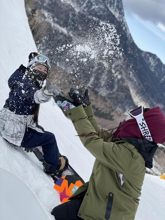 雪が綺麗と笑う君。|丸沼高原スキー場のクチコミ画像