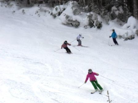 降ったりやんだり|信州松本 野麦峠スキー場のクチコミ画像