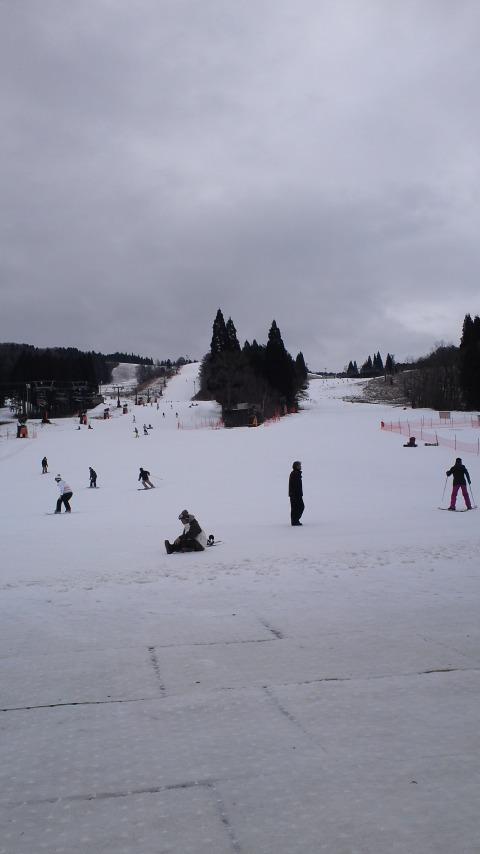 朝一はガリガリアイスバーン|鷲ヶ岳スキー場のクチコミ画像