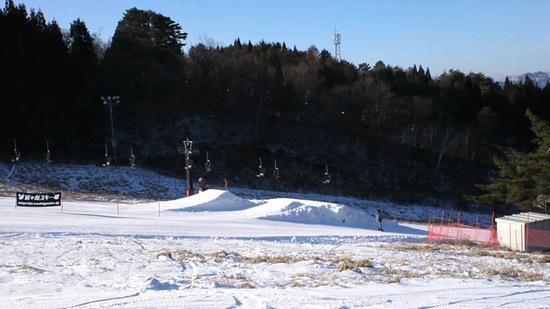 朝一はガリガリアイスバーン|鷲ヶ岳スキー場のクチコミ画像2
