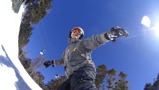 長いコースは、スノボ天国|丸沼高原スキー場のクチコミ画像