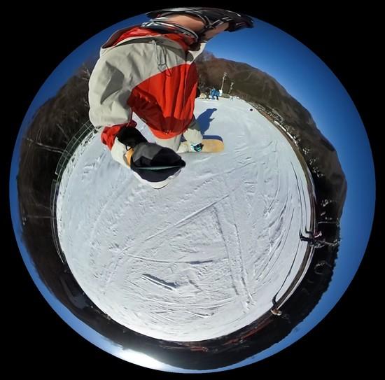 丸く滑る|カムイみさかスキー場のクチコミ画像