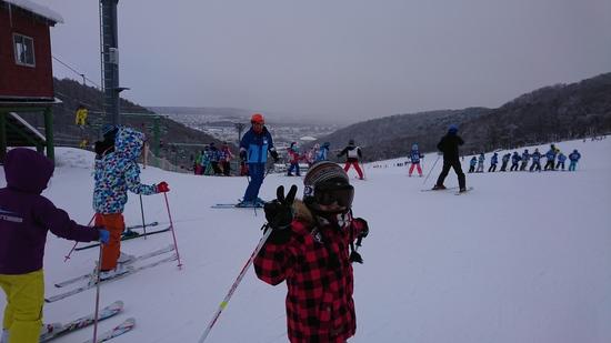 初!藻岩山!|札幌藻岩山スキー場のクチコミ画像