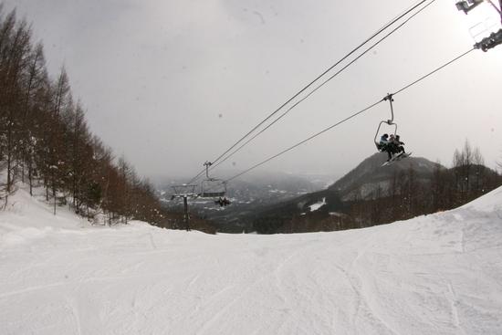 午前中は晴れてたのに…|ノルン水上スキー場のクチコミ画像