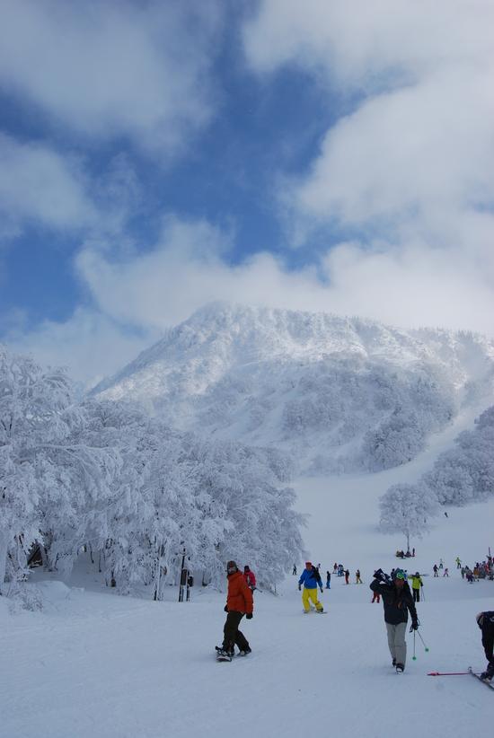 初中級の方にオススメです。|蔵王温泉スキー場のクチコミ画像