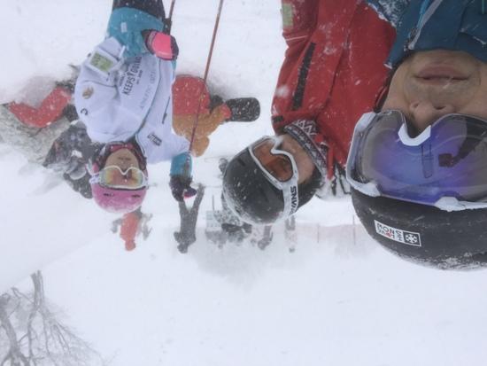 パウダー楽しい|斑尾高原スキー場のクチコミ画像2