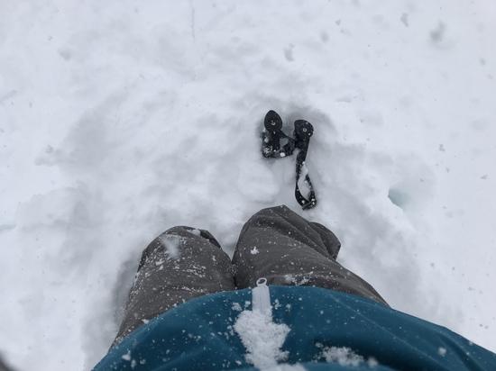 パウダー楽しい|斑尾高原スキー場のクチコミ画像3