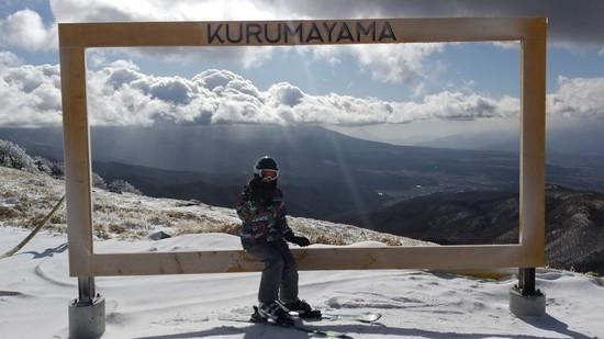 富士山まで拝めます|車山高原SKYPARKスキー場のクチコミ画像