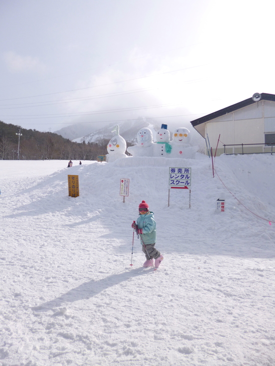 ファミリー向け、アットホームなスキー場で大好き!|みやぎ蔵王七ヶ宿スキー場のクチコミ画像1