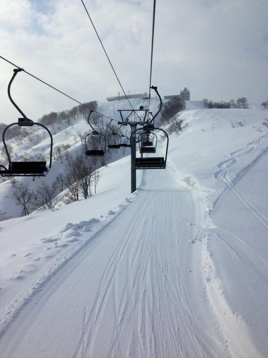 リフト1本で滑り倒せるありがたさ。|須原スキー場のクチコミ画像2