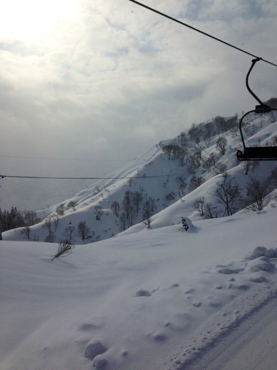 リフト1本で滑り倒せるありがたさ。|須原スキー場のクチコミ画像3