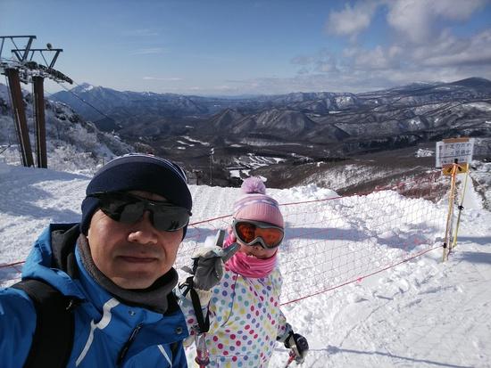 スキー日和!雪質良好!|箕輪スキー場のクチコミ画像1