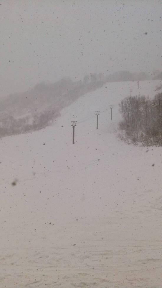 新雪。 奥只見丸山スキー場のクチコミ画像