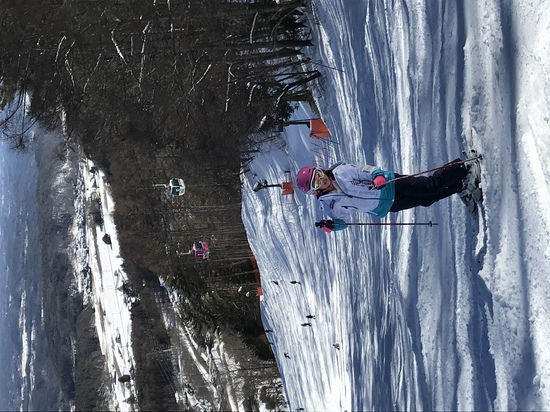 晴天のスキーは気持ちいい|富士見パノラマリゾートのクチコミ画像