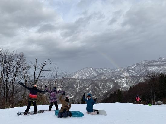 レインボー!!|シャルマン火打スキー場のクチコミ画像2