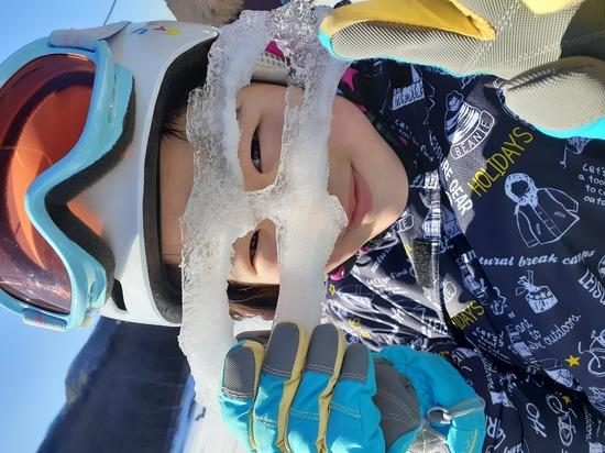 氷の仮面|カムイみさかスキー場のクチコミ画像