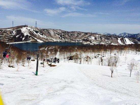 5月も十分滑れます。|かぐらスキー場のクチコミ画像