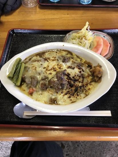 見晴らし茶屋は焼きチーズカレーがやばい YAMABOKU ワイルドスノーパークのクチコミ画像