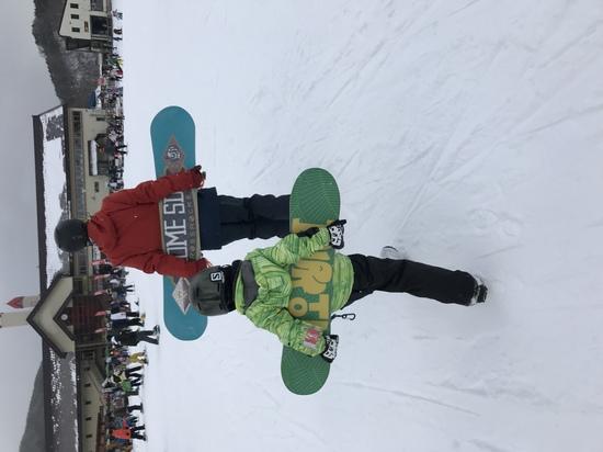 弟子が出来ました|めいほうスキー場のクチコミ画像