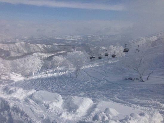 景色最高! 野沢温泉スキー場のクチコミ画像
