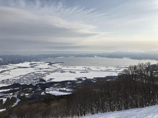 レベル高いコブ|猪苗代スキー場[中央×ミネロ]のクチコミ画像
