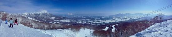 眺めがよく気持ちよく滑れる。|雫石スキー場のクチコミ画像