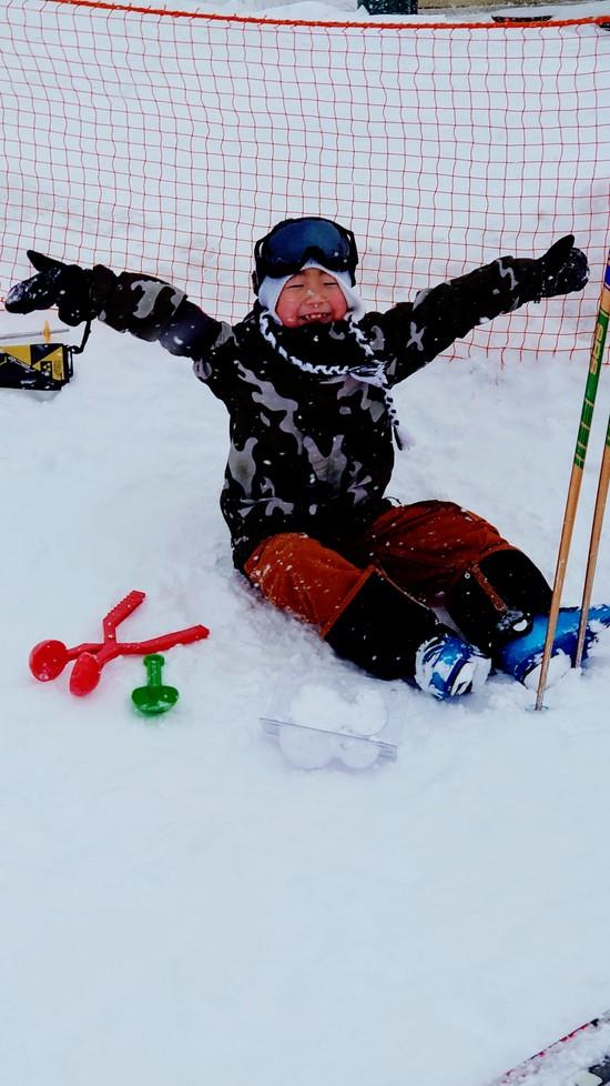 新年、初滑り!!|網張温泉スキー場のクチコミ画像1