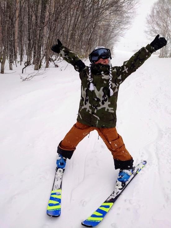 新年、初滑り!!|網張温泉スキー場のクチコミ画像2