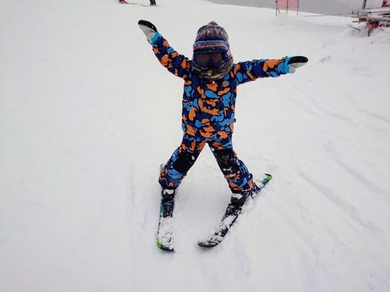 新年、初滑り!!|網張温泉スキー場のクチコミ画像3