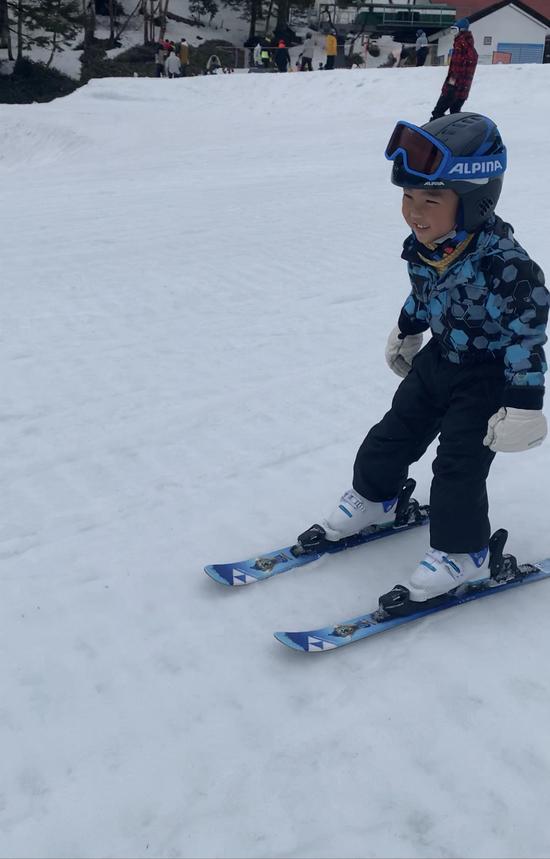 初めてひとりで滑れた!|丸沼高原スキー場のクチコミ画像