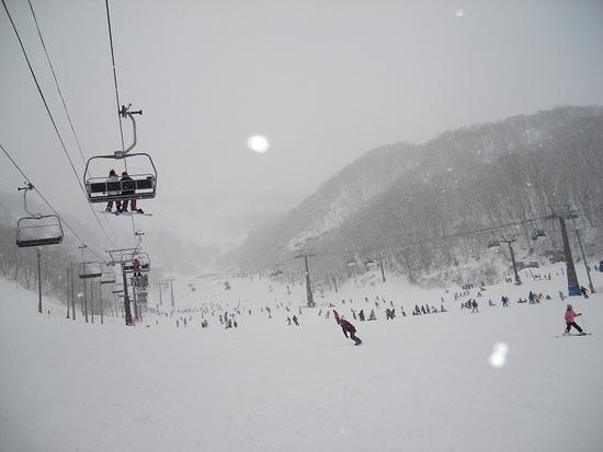 大雪でも賑わう|エイブル白馬五竜のクチコミ画像