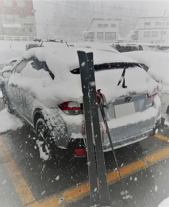 降雪中の運転注意|かぐらスキー場のクチコミ画像