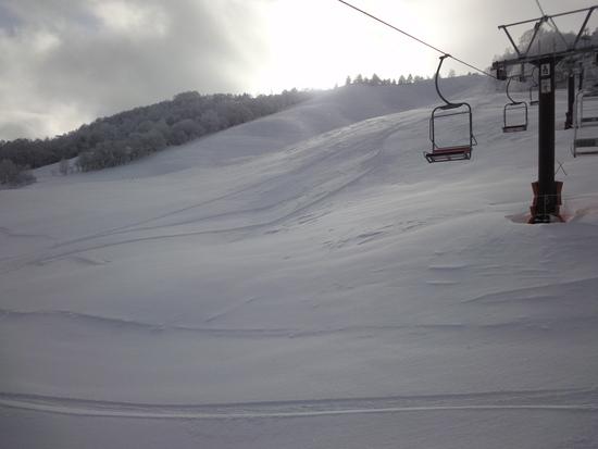 どか雪の後は、すいてるう〜|しらかば2in1スキー場のクチコミ画像