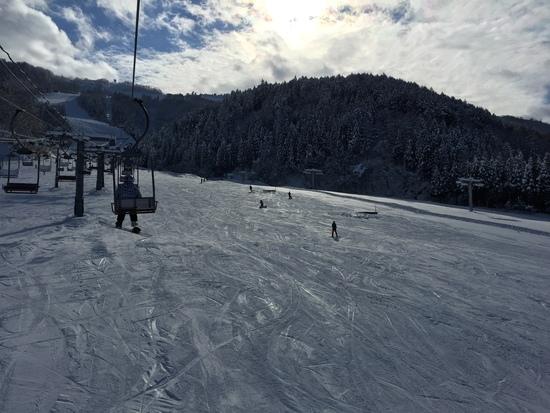 コンディション最高!|立山山麓スキー場のクチコミ画像