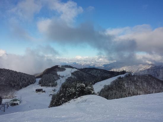 コースもほぼオープン!|GALA湯沢スキー場のクチコミ画像