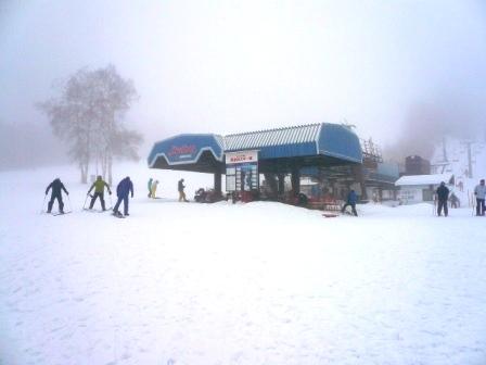 ガスの中|信州松本 野麦峠スキー場のクチコミ画像