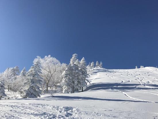 最高の雪景色❄️|志賀高原リゾート中央エリア(サンバレー〜一の瀬)のクチコミ画像