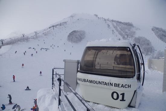 朝イチリーゼン+朝イチビール最高!|白馬八方尾根スキー場のクチコミ画像
