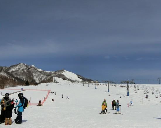 天気がいい日は最高|岩原スキー場のクチコミ画像