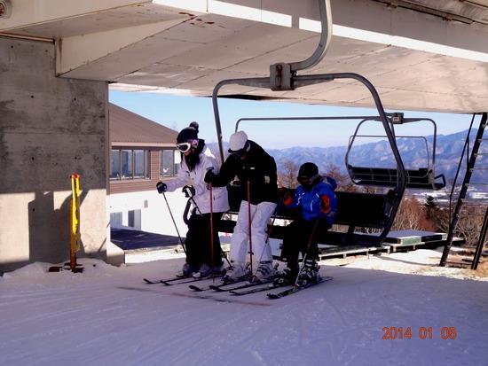 初級者コースは、リフトも快適でした。|サンメドウズ清里スキー場のクチコミ画像