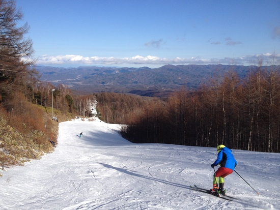 毎年初滑りで利用します。|八千穂高原スキー場のクチコミ画像
