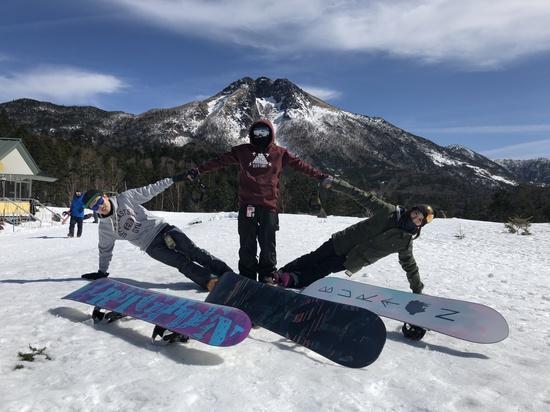 ピーカン!ピーカン!ピーカン!|丸沼高原スキー場のクチコミ画像